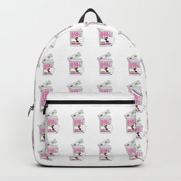 90s Bubble Beeper Chewing Gum with Gothic Nails Backpack