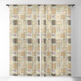 Snail Mail Sheer Curtain