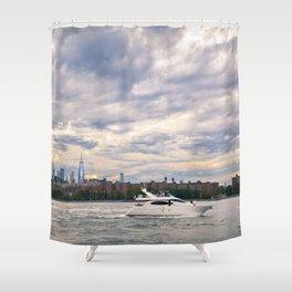 Lil Yacht-y Shower Curtain