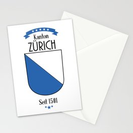 Canton of Zurich Stationery Cards