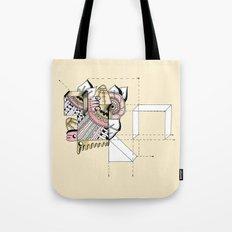La geometría de las flores II Tote Bag