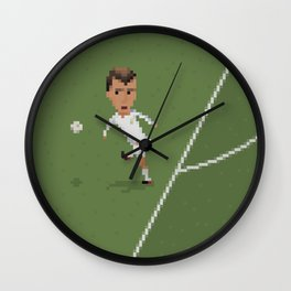 Zidane's volley Wall Clock