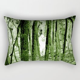 """""""Ghost in the Aokigahara Fores"""" Rectangular Pillow"""