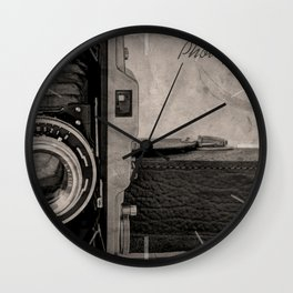 Photography Wall Clock