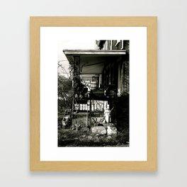 The Neighbor Framed Art Print