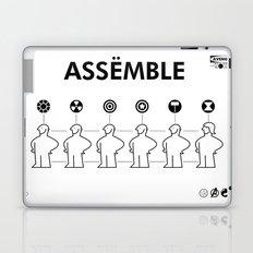 The Avengers X IKEA Mashup Laptop & iPad Skin
