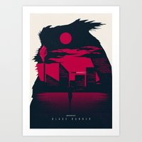 blade runner Art Prints featuring Blade Runner by Inno Theme