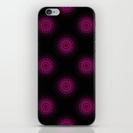 Stain glass Mandala iPhone Skin