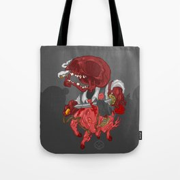 The Four Horsemen of the Apocalypse (Red) Tote Bag