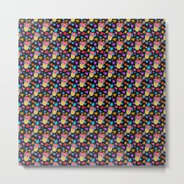 rainbow fireworks / friday night pineapple cocktails Metal Print
