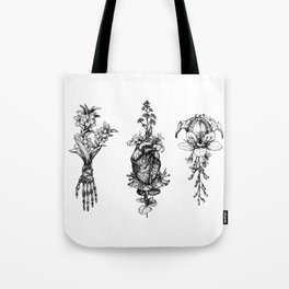 In Bloom - herbarium Tote Bag