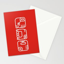 Mayan Glyphs ~ Hands Stationery Cards