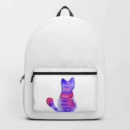 Gato rayado Backpack