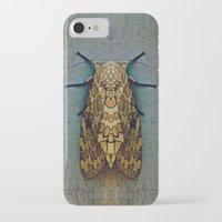 moth iPhone & iPod Cases featuring Moth by Zandonai