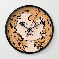 merida Wall Clocks featuring Merida by Crousticro