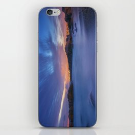 Sunset at the beach iPhone Skin
