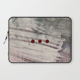 Wait // acrylic abstract texture modern painting Laptop Sleeve