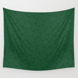 derived of triangle in green Wall Tapestry