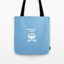 Summer 1969 -  lt. blue Tote Bag