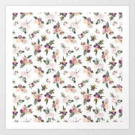 Bouquets of Abundance Art Print