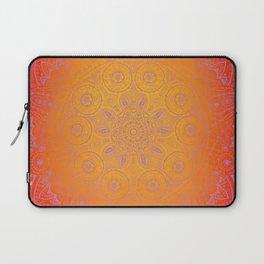 Sunshine Mandala Purple Laptop Sleeve