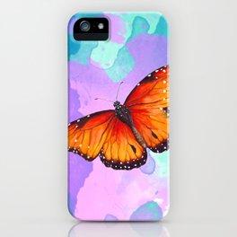 Sunset Fireflies iPhone Case