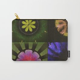 Brinish Symmetry Flowers  ID:16165-053020-45980 Carry-All Pouch