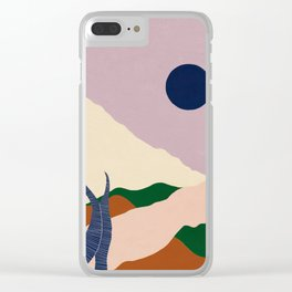Intangible Land II | Gouache Clear iPhone Case