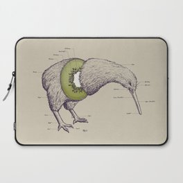 Kiwi Anatomy Laptop Sleeve