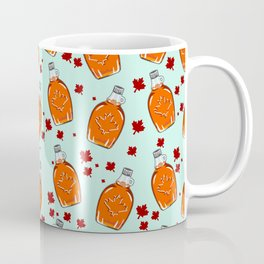 Super Canadian Maple Syrup Pattern Coffee Mug