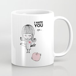 I Hate You / Guglielmo Tell Coffee Mug