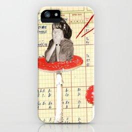 mushroom girl 2 iPhone Case