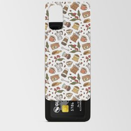 Coffee Break Pattern  Android Card Case