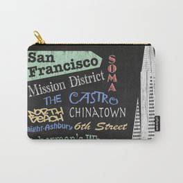 San Francisco Tourism Poster Carry-All Pouch