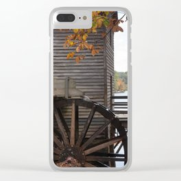 Fall Mill Clear iPhone Case