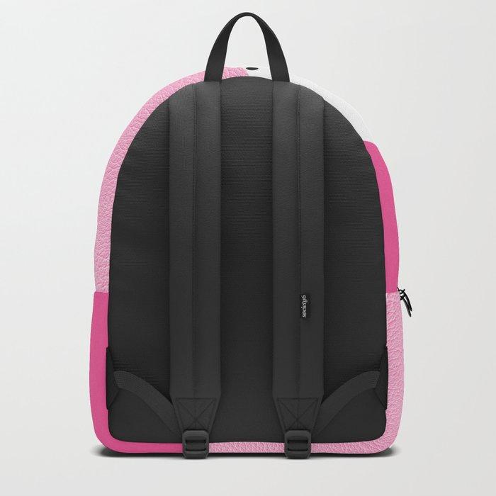 Black dots & pink leader Backpack