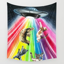 Space cats Wall Tapestry