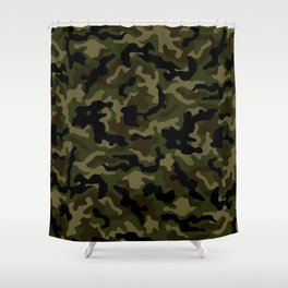 Camouflage Art3 Shower Curtain