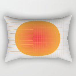 Binary Glow Rectangular Pillow