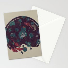 Amongst the Lilypads Stationery Cards