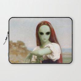 Bouguereau's Alien Shepherdess Laptop Sleeve