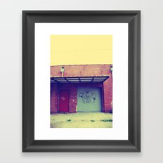 'Round The Way Joint  Framed Art Print