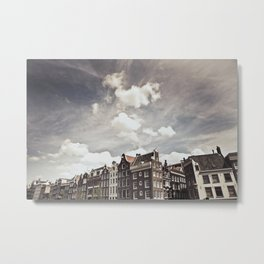 Amsterdam Clouds Two Metal Print