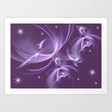The stars Elves Art Print