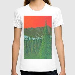 Mountain Sunset 3 T-shirt