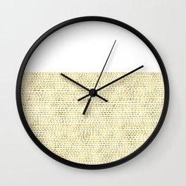 Riverside Gold Wall Clock