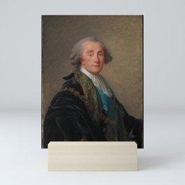 Elisabeth Louise Vigee Le Brun - Alexandre Charles Emmanuel de Crussol-Florensac (1743–1815) Mini Art Print