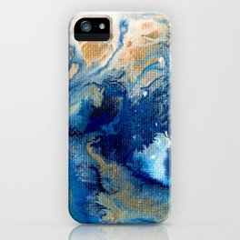 Abstract We Will Survive Wave  iPhone Case