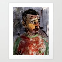 selfie Art Prints featuring Selfie by Jonas Ericson