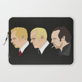 Simon Pegg - Shaun Of The Dead, Hot Fuzz and The World's End Laptop Sleeve